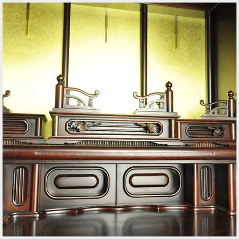 須弥壇のアップ写真